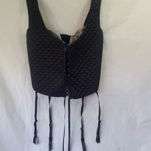 Frederick's of Hollywood Quilted Bustier